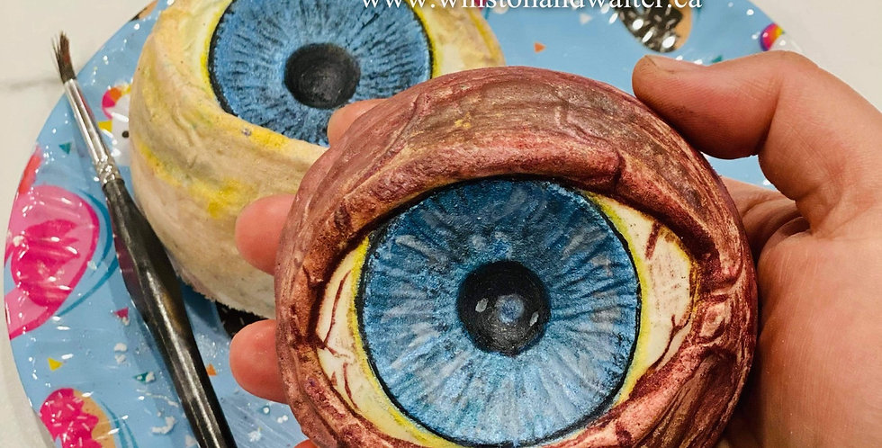 Large or Medium Eye for an Eye Plastic Bath Bomb Mold