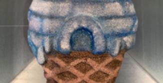 Igloo Ice Cream Cone Plastic Bath Bomb Mold