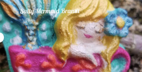 Angelina the Mermaid Plastic Bath Bomb Mold