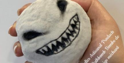 Scary Snowman Plastic Bath Bomb Mold