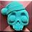 Thumbnail: Sad Skully Holiday Plastic Bath Bomb Mold