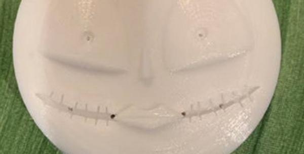 Jumbo Sized Halloween Plastic Bath Bomb Mold