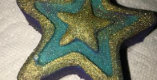 Seeing Stars Plastic Bath Bomb Mold