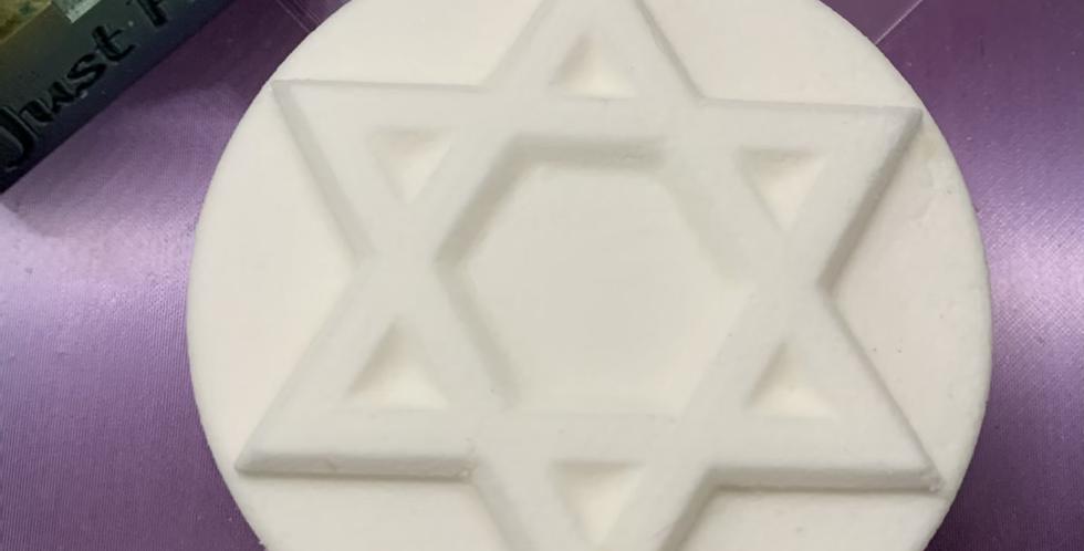 Star of David Plastic Bath Bomb Mold