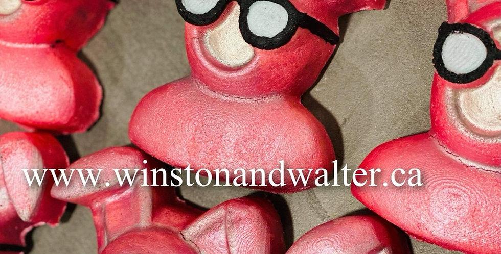 Pink Nightmare Rabbit Plastic Bath Bomb Mold
