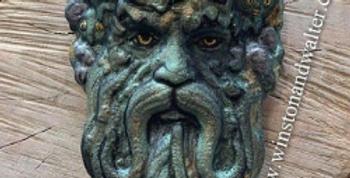 Magical Character Green Tree Man Plastic Bath Bomb Mold