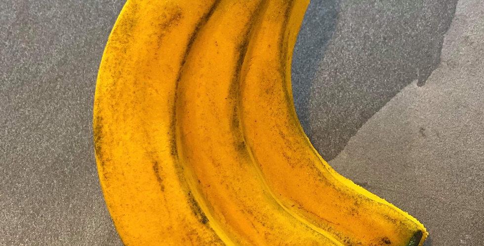 A Banana Bunch Plastic Bath Bomb Mold