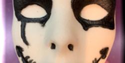 Scary Mask Plastic Bath Bomb Mold