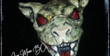 Dracula's Dog Gargoyle Plastic Bath Bomb Mold