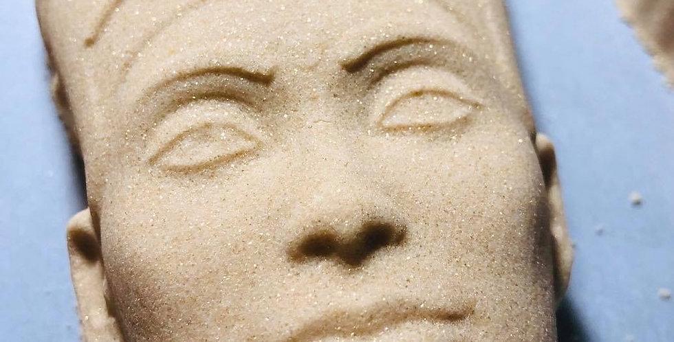 Queen Nefertiti Plastic Bath Bomb Mold