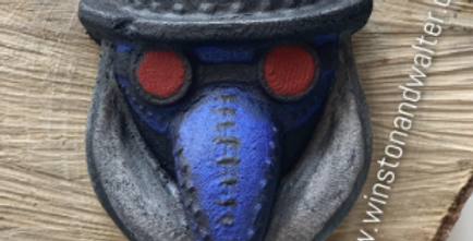 Plague Mask Plastic Bath Bomb Mold