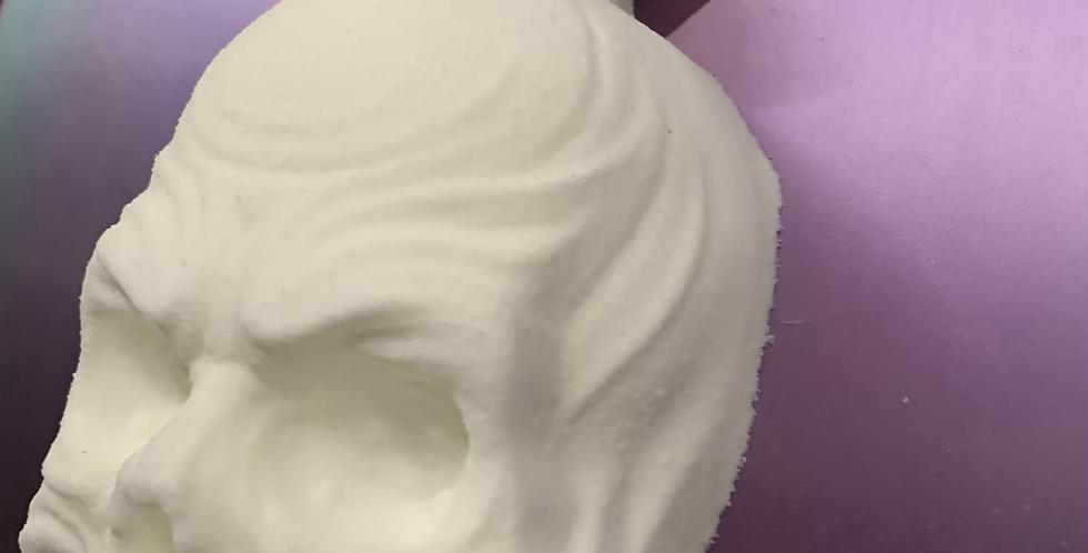 Skull Potion Bottle Plastic Bath Bomb Mold