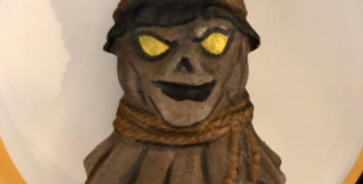 Scarecrow Bath Bomb Mold