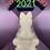 Thumbnail: Large or Medium Traditional Easter Bunny Plastic Bath Bomb Mold