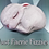 Thumbnail: X-LARGE Sleeping Baby Bunny Plastic Bath Bomb Mold