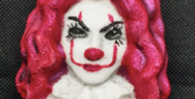 Mrs. Clown Plastic Bath Bomb Mold
