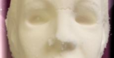 Scary Halloween Man Plastic Bath Bomb Mold
