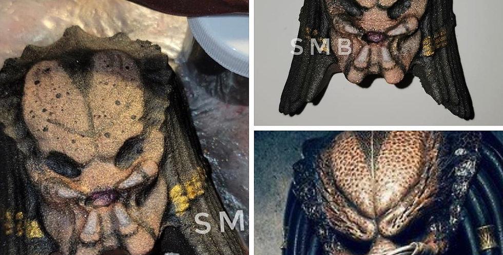 Predator Alien no Helmet Plastic Bath Bomb Mold