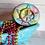 Thumbnail: Hemp Hippie Peace Love Plastic Bath Bomb Mold