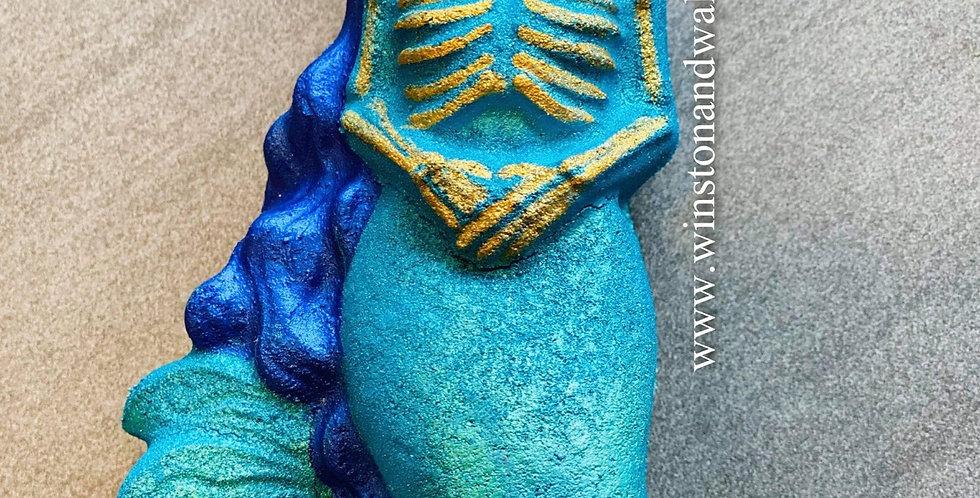 Zombie Mermaid Plastic Bath Bomb Mold
