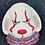 Thumbnail: Scary Clown Dog Plastic Bath Bomb Mold