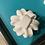 Thumbnail: Medium  Swirling Holiday Bow Plastic Bath Bomb Mold