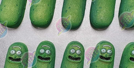 Cartoon Pickle Plastic Bath Bomb Mold