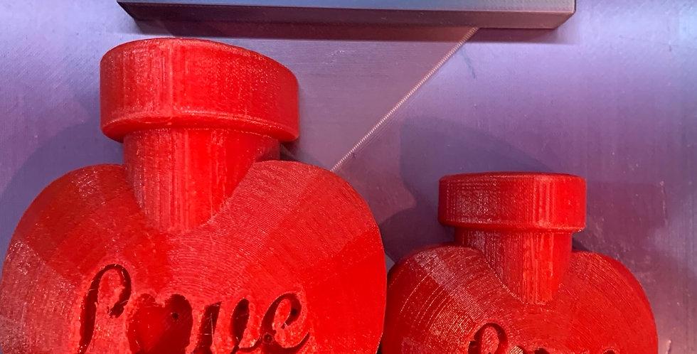 Large or Medium New Love Perfume Bottle Plastic Bath Bomb Mold