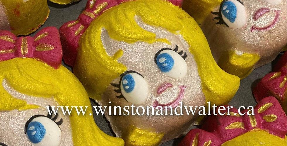 Little Girl Plastic Bath Bomb Mold - Two Sizes