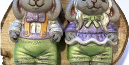 Boy & Girl Easter Bunny© Bath Bomb Molds