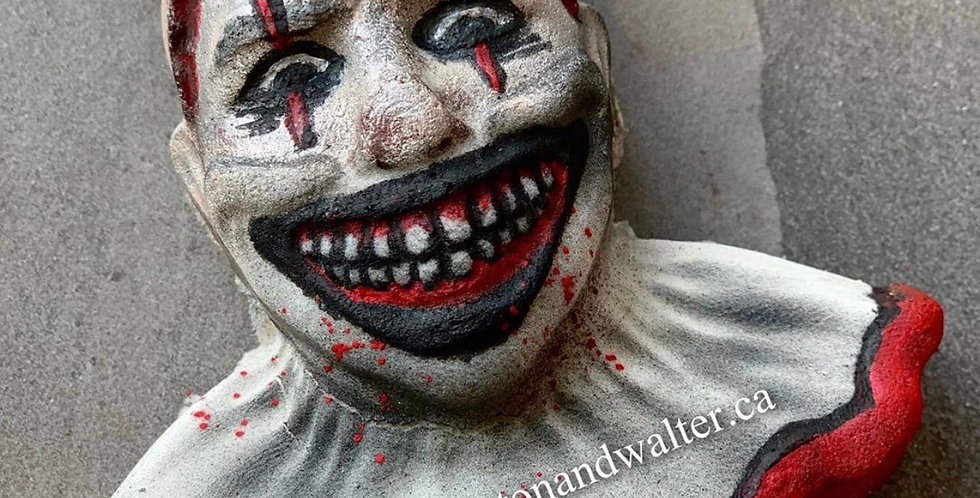 Scary Clown Plastic Bath Bomb Mold