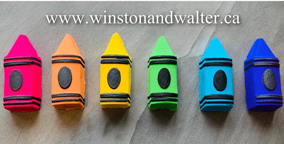 Back to School Crayon Plastic Bomb Mold