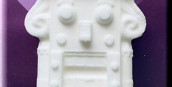 Vintage Holiday Nut Cracker Plastic Bath Bomb Mold