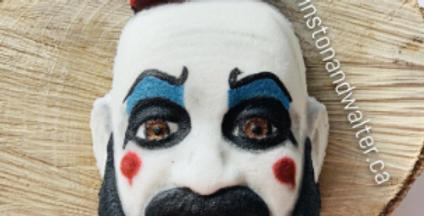Halloween Clown Character Plastic Bath Bomb Mold