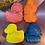 Thumbnail: Medium Horror Ducks Plastic Bath Bomb Mold Set