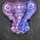 Thumbnail: Paisley Baby Elephant Plastic Bath Bomb Mold
