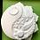 Thumbnail: Healing, Balance and Peace Plastic Bath Bomb Mold
