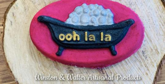 October Mold of the Month Ooh La La Plastic Bath Bomb Mold