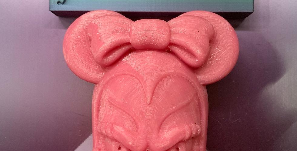 Creepy Ms. Mouse Plastic Bath Bomb Mold