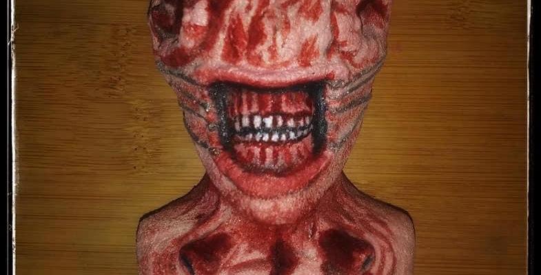 Scary Horror Character Plastic Bath Bomb Mold
