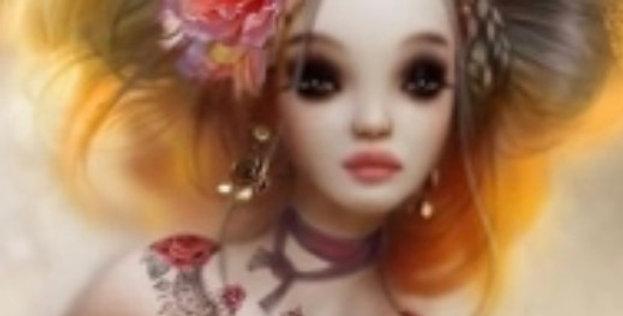 Circus Girl Plastic Bath Bomb Mold - Two Sizes