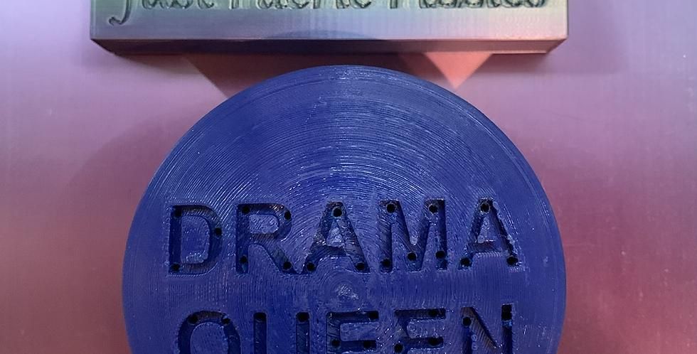 Drama Queen Plastic Bath Bomb Mold