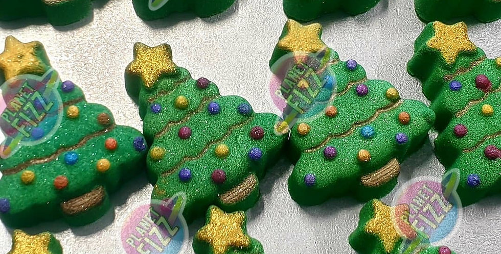 Holiday Tree Plastic Bath Bomb Mold