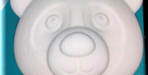 Panda Bear Plastic Bomb Mold