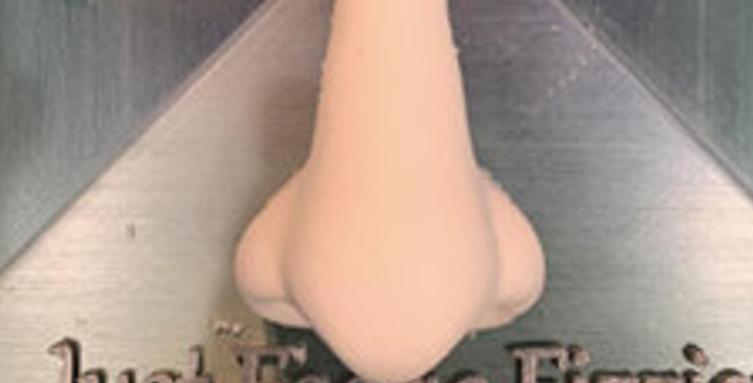 The Smaller Original Plastic JFF Shower Steamer Nose Shaped Bath Bomb Mold