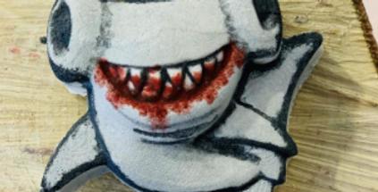 JFF Original Hammerhead Shark Plastic Bath bomb Mold