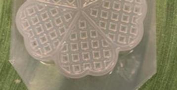 Traditional Waffle Iron Plastic Bath Bomb Mold