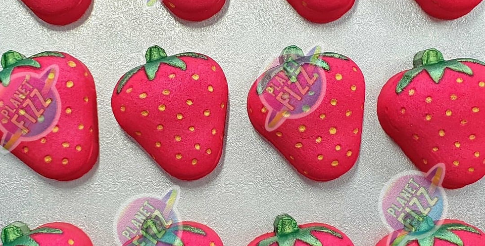 Strawberry Plastic Bath bomb Mold