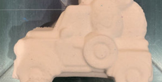Old Fashioned Truck with Easter Eggs© Bath Bomb Mold