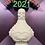 Thumbnail: Powdered Bones Potion Bottle Plastic Bath Bomb Mold